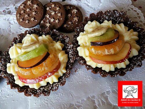 Crostatine alla frutta senza forno