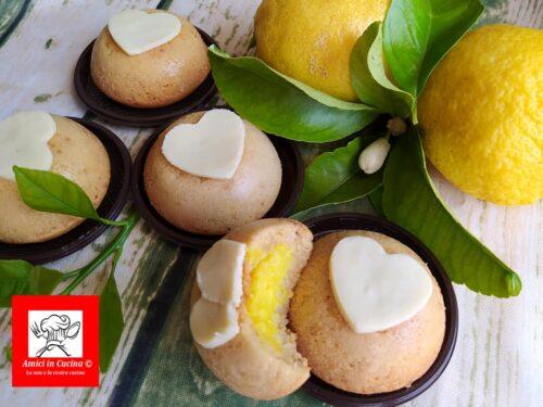 Merendine con crema al limone