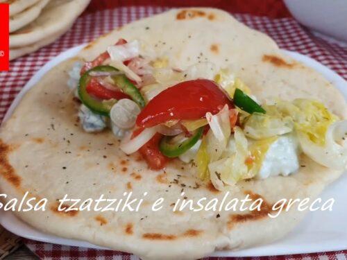 Salsa tzatziki e insalata greca – video