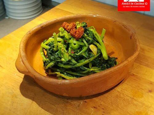 Broccoletti alla nduja