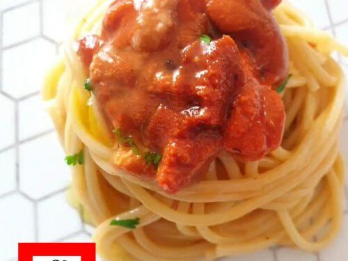 Spaghetti ai ricci di mare – video