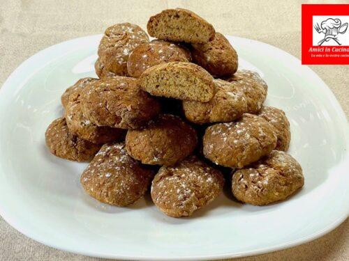 Biscotti con fichi freschi senza burro