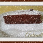 "Torta "" Morbido al cioccolato fondente"""
