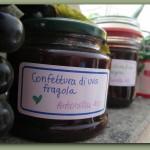 Confettura d'uva fragola