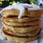 Pancake di patate e speck
