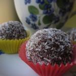 Bonbon caffè cioccolato e cocco