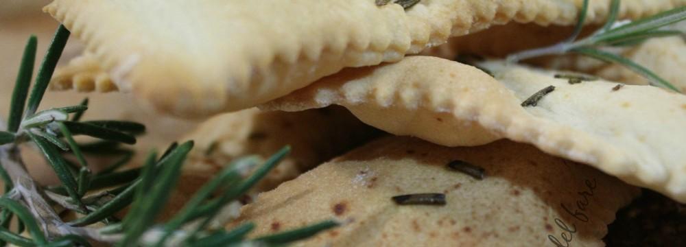 crackers e grissini con esubero di lievito madre