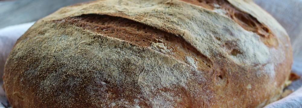Pane di grano duro con lievito madre