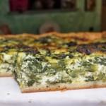Torta rustica spinaci e ricotta