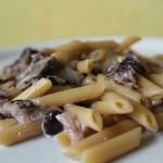 Pennette radicchio e gorgonzola