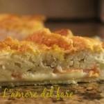 Torta rustica al salmone e patate
