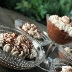 Mousse di caffè e cioccolato fondente