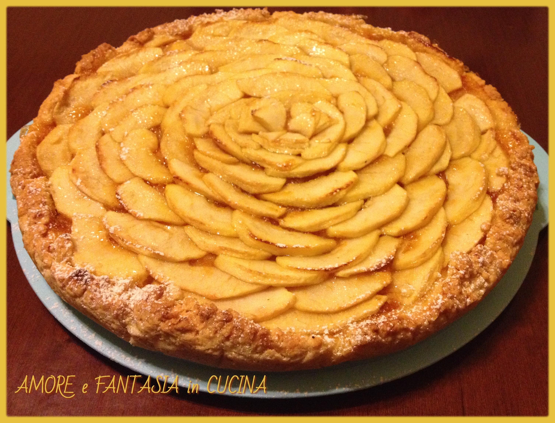 Crostata di mele amore e fantasia in cucina for Crostata di mele