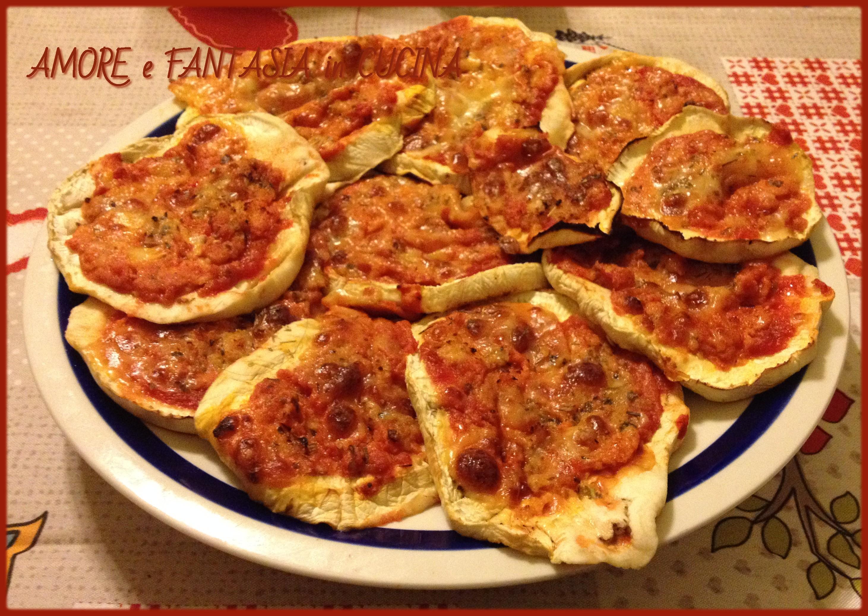 pizzette di melanzane 3