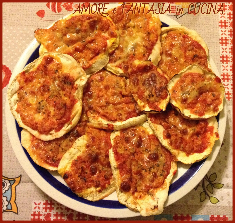 pizzette di melanzane 4
