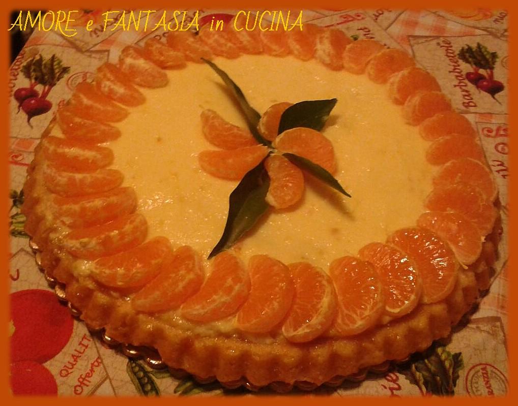 Crostata ai mandarini