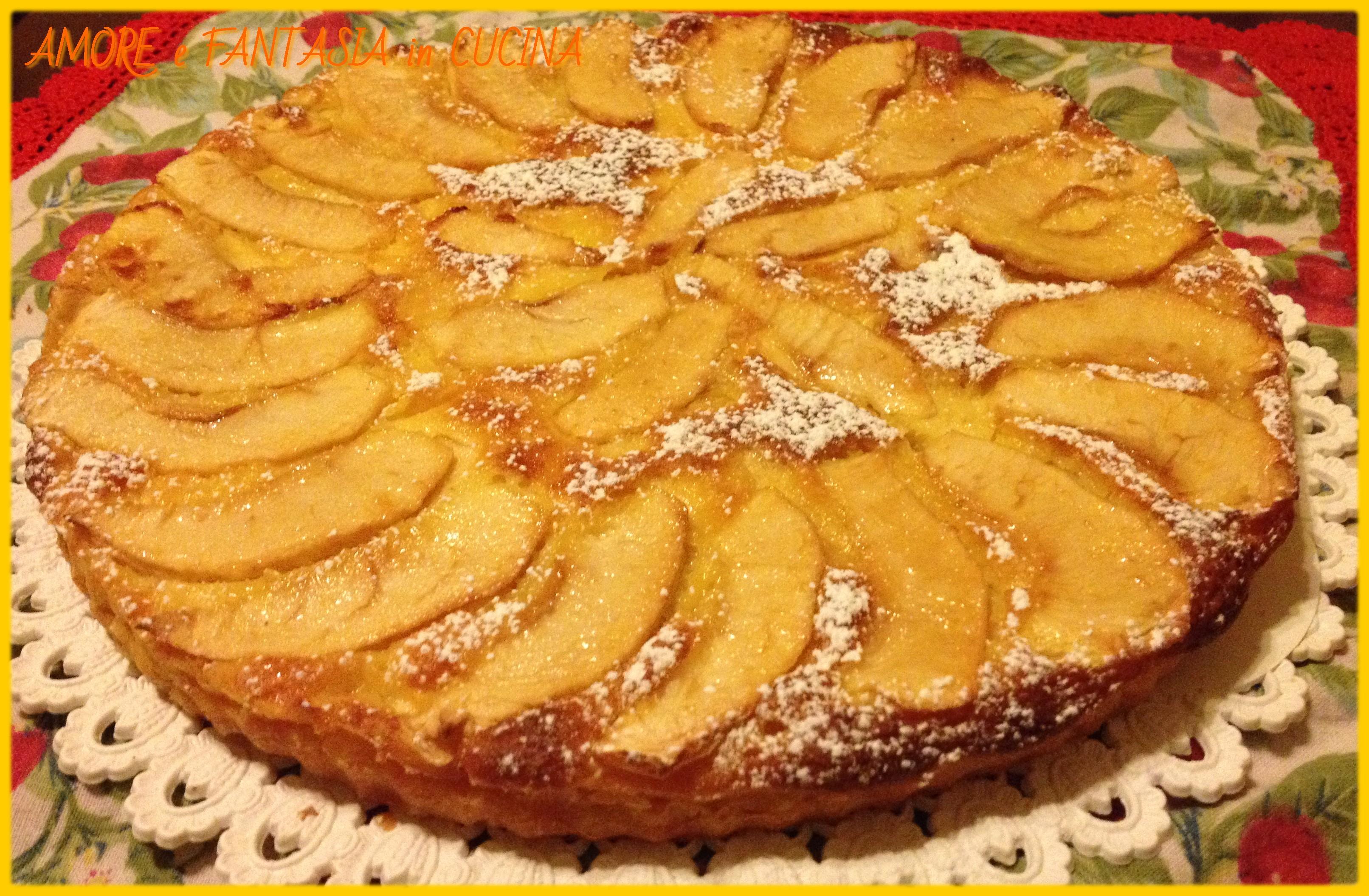 torta di mele cremosa 2