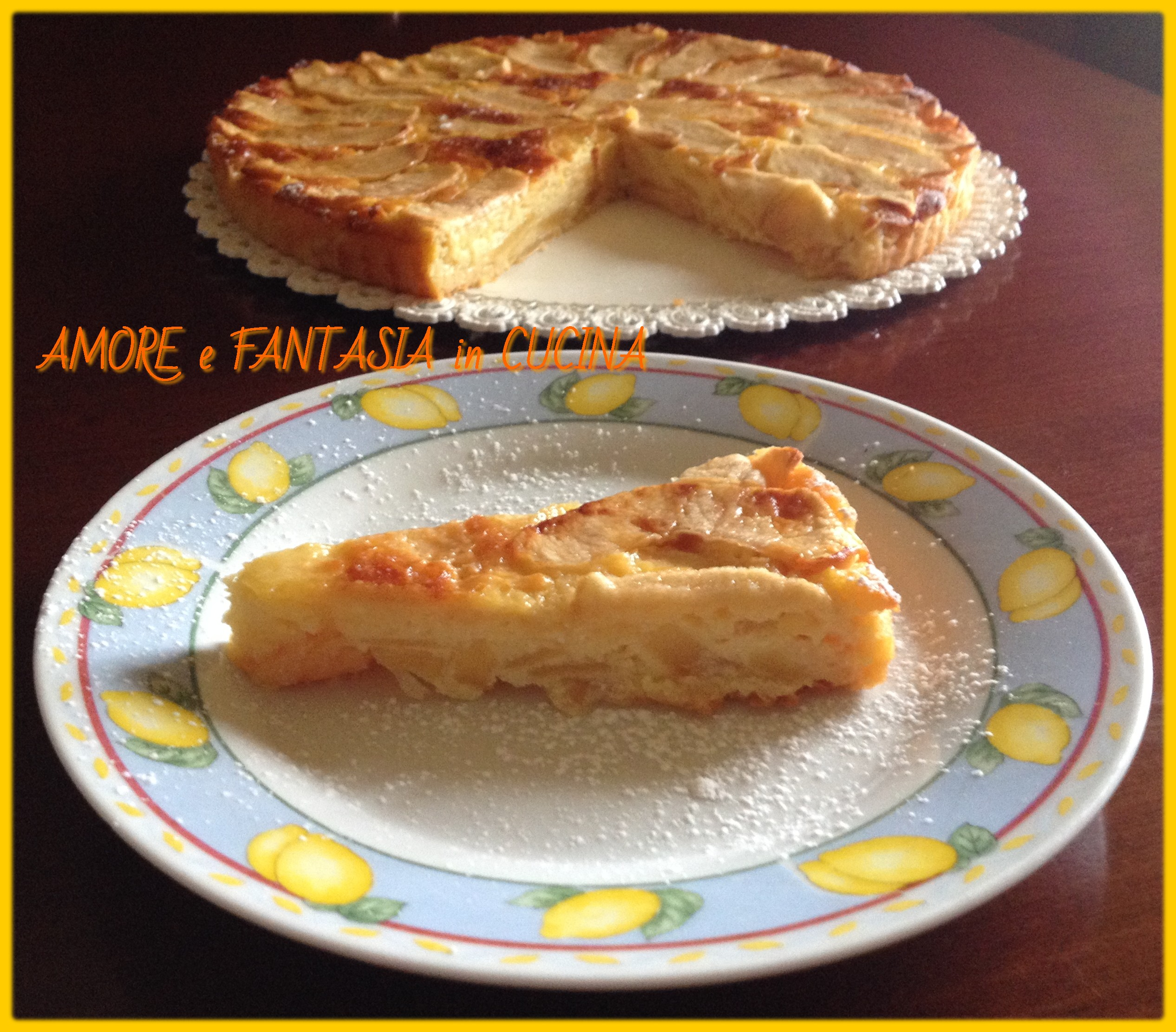 torta di mele cremosa 3