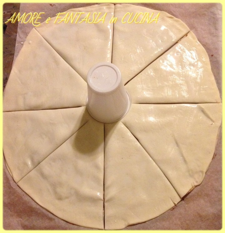 sole di pasta sfoglia alla nutella 2