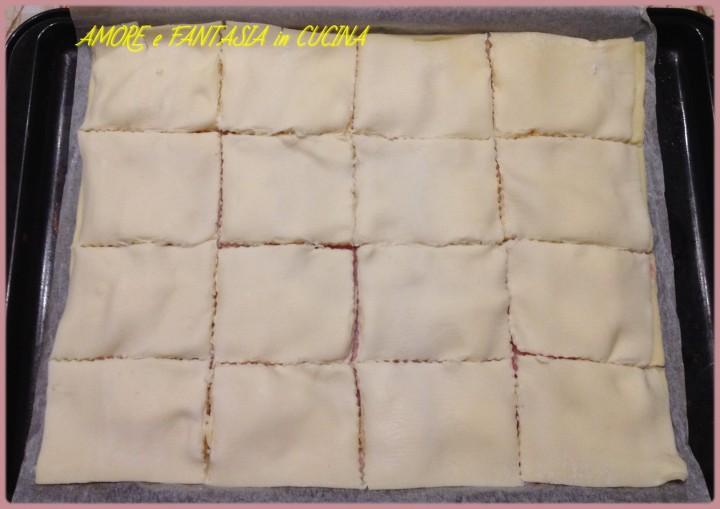 quadratini di pasta sfoglia farciti 2