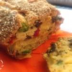 Plumcake con verdure grigliate