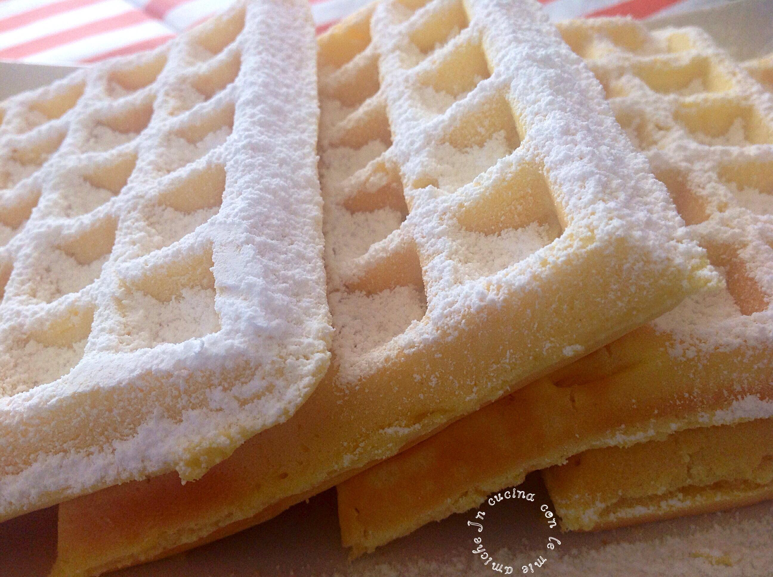 Ricetta base waffel dolci