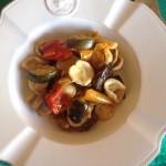 Orecchiette e maccheroni con verdure grigliate