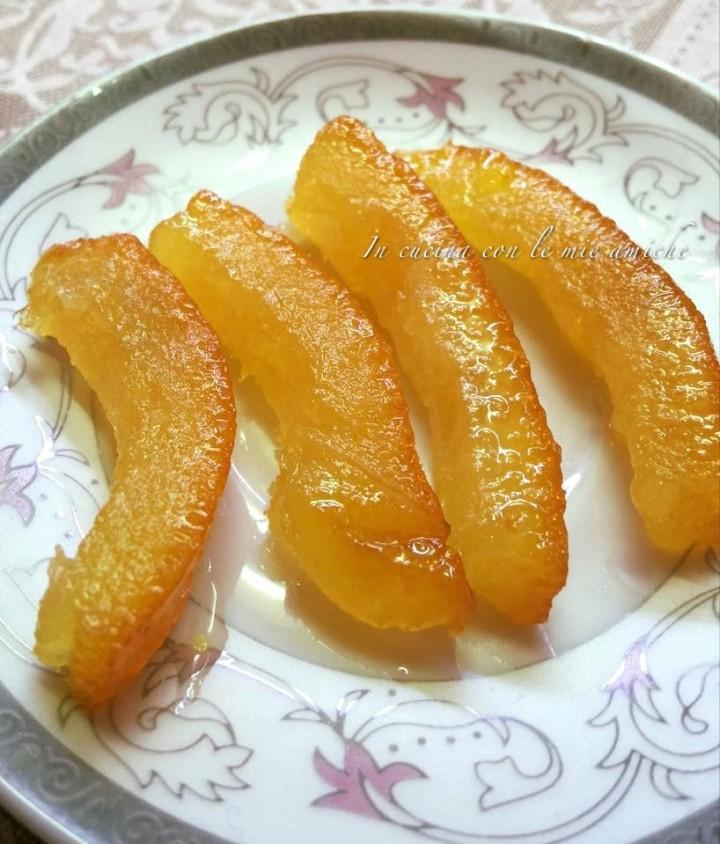 %name Scorzette d arancia candite