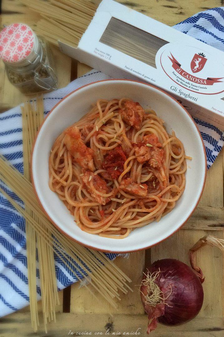IMG 2759 718x1080 Spaghetti al sugo con carne ncantarata