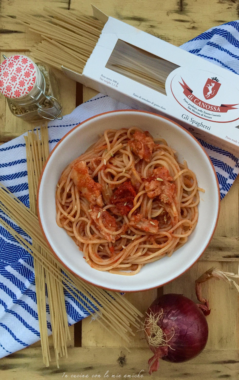 Spaghetti al sugo con carne ' ncantarata