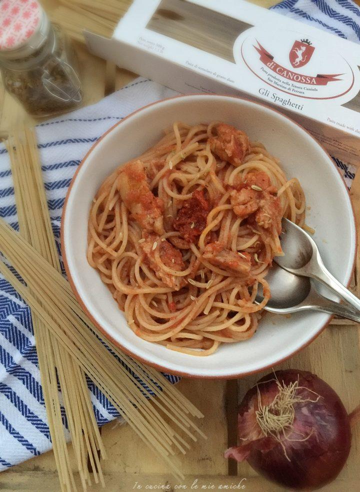 IMG 6199 720x982 Spaghetti al sugo con carne ncantarata