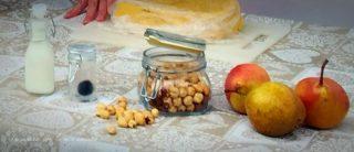 IMG 0617 320x138 Bocconcini di polenta con crema di taleggio e tartufo
