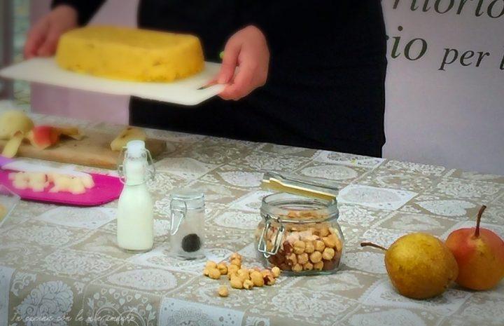 IMG 0618 720x465 Bocconcini di polenta con crema di taleggio e tartufo
