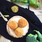 Polpette di broccolo con cuore morbido