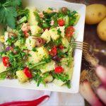 Insalata ricca di patate