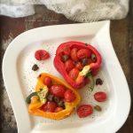 Peperoni ripieni alla mediterranea