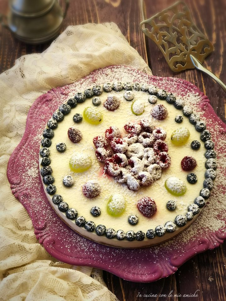 IMG 3217 720x960 Torta fredda al cocco e cioccolato bianco