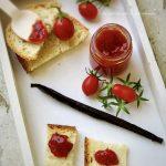 Confettura di pomodorini alla vaniglia