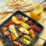 %name Sgombro e frutta grigliata su Rubatà