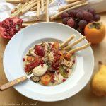 Sgombro e frutta grigliata su Rubatà