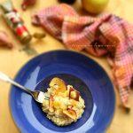Risotto di mele e taleggio