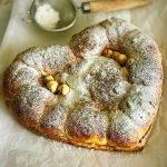 Cuore di pan brioche