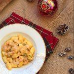 Gnocchi al salmone e gamberetti in salsa rosa