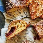 Focaccia dolce con farina di grano duro