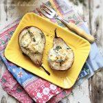 Pere al gorgonzola e miele di tarassaco
