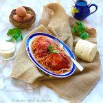 Spaghetti all'ova 'mpriatorio