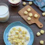 Gnocchi di patate al latte