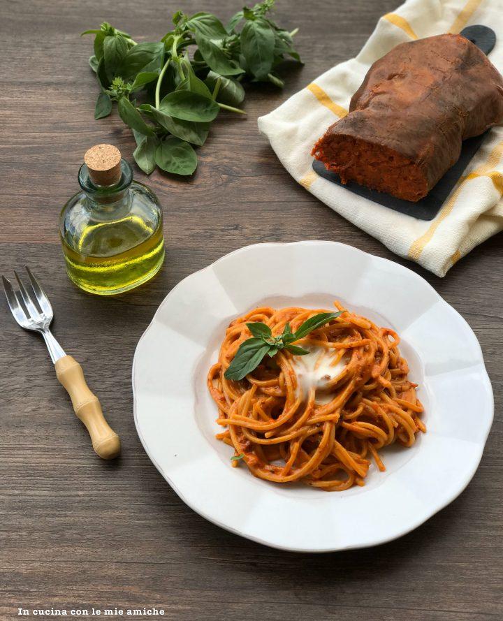 %name Spaghetti cremosi con la nduja