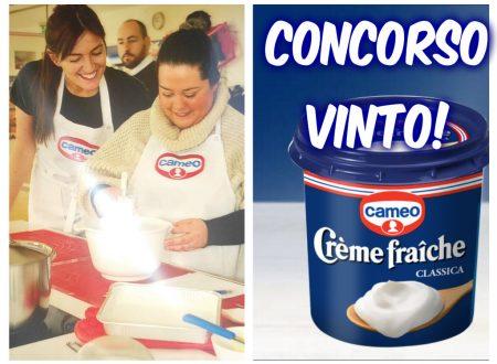 """Concorso """"In Cucina con Crème fraîche"""""""