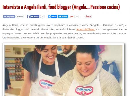 Cucinare meglio: La mia prima intervista